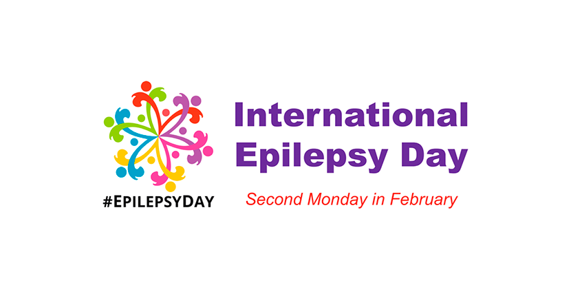 Logotyp för Epilepsy Foundation. Illustration.